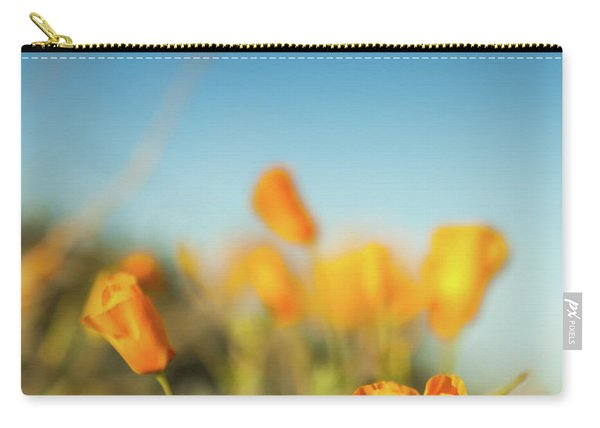 El Paso Poppies Carry-all Pouch