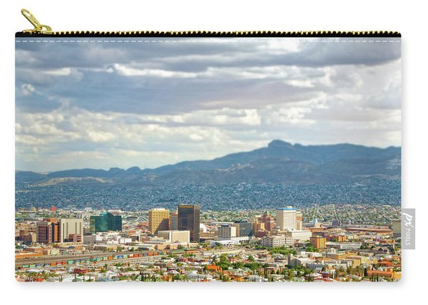 El Paso Texas Downtown View Carry-all Pouch