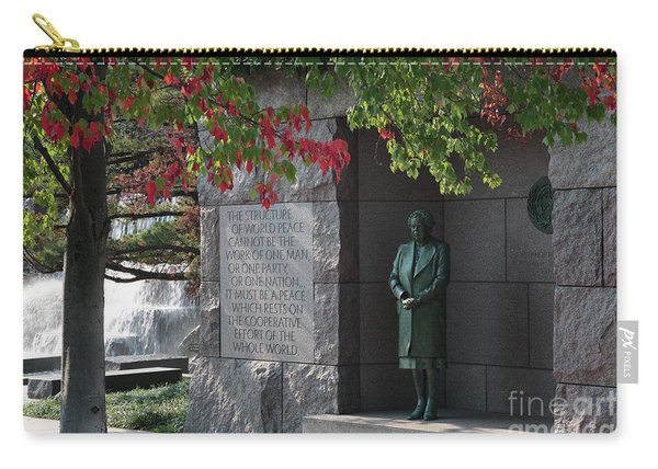 Eleanor's Alcove At The Fdr Memorial In Washington Dc Carry-all Pouch