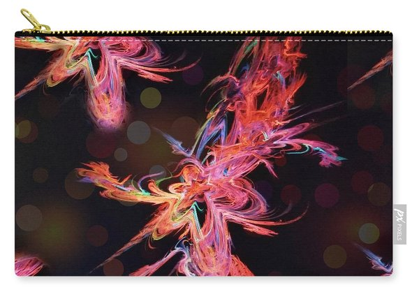 Electric Flowers Carry-all Pouch