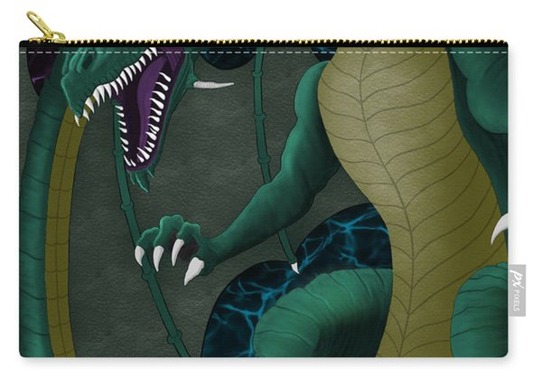 Electric Portal Dragon Carry-all Pouch