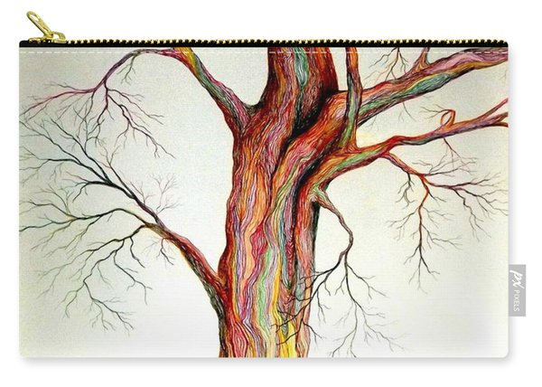 Electric Tree Carry-all Pouch