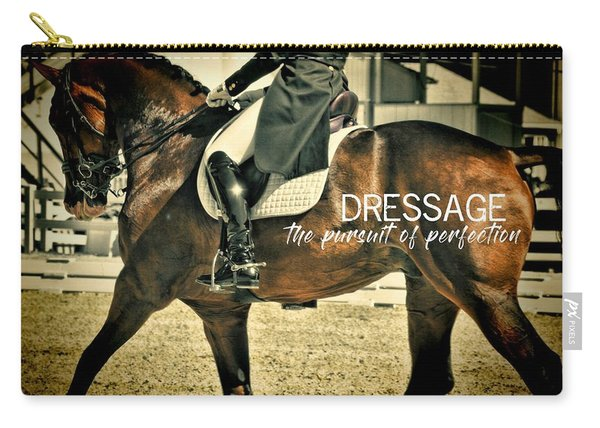 Elegance Quote Carry-all Pouch