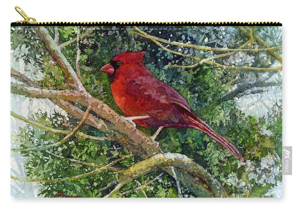 Elegance In Red Carry-all Pouch