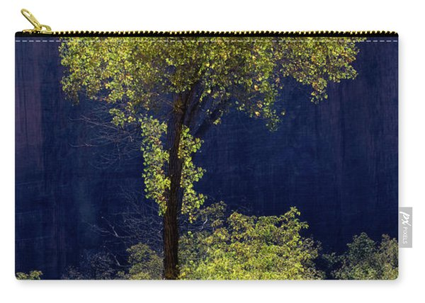 Elegance In The Park Vertical Adventure Photography By Kaylyn Franks Carry-all Pouch