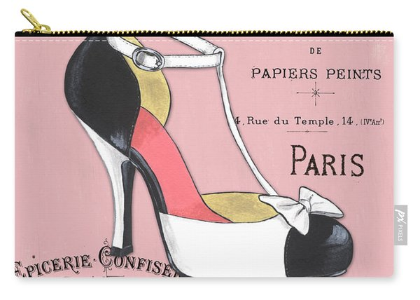 Elegant French Shoes 1 Carry-all Pouch