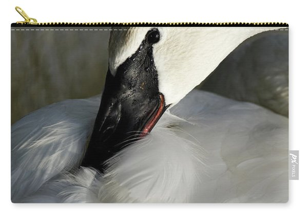 Elegant Trumpeter Swan Carry-all Pouch
