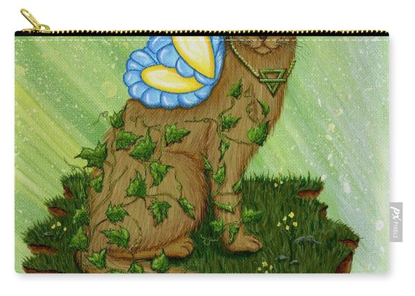 Elemental Earth Fairy Cat Carry-all Pouch