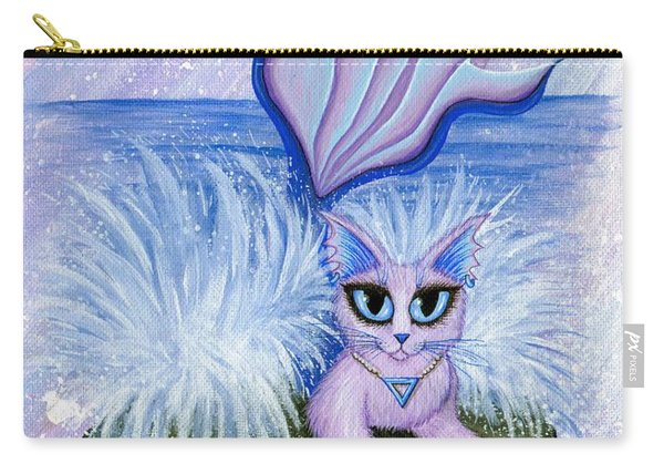 Elemental Water Mermaid Cat Carry-all Pouch