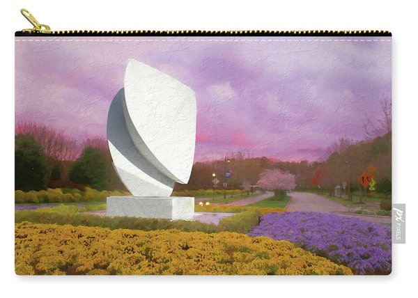 Elements At Sunset Christopher Newport University Carry-all Pouch
