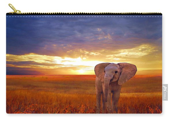 Elephant Baby Carry-all Pouch