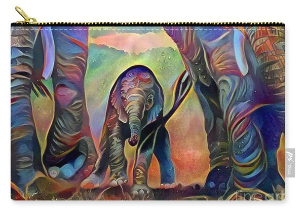 Elephant Delight 2 Carry-all Pouch