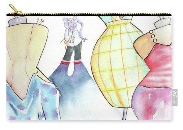 Elephant Designer Carry-all Pouch