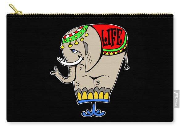 Elephant Life  Carry-all Pouch