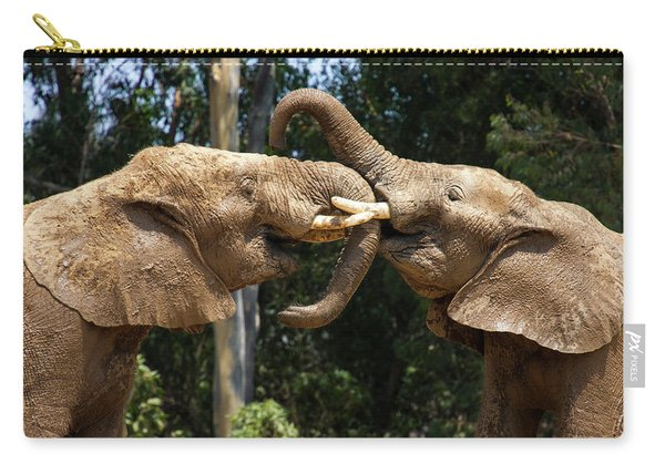 Elephant Play Carry-all Pouch
