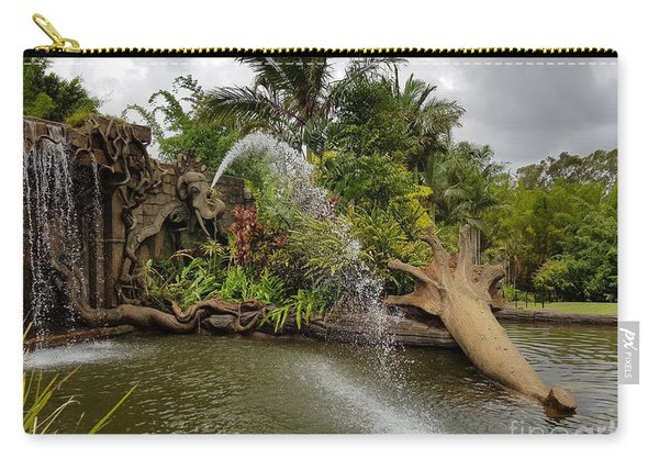 Elephant Waterfall Carry-all Pouch