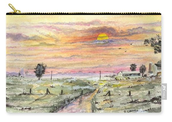 Elevator In The Sunset Carry-all Pouch
