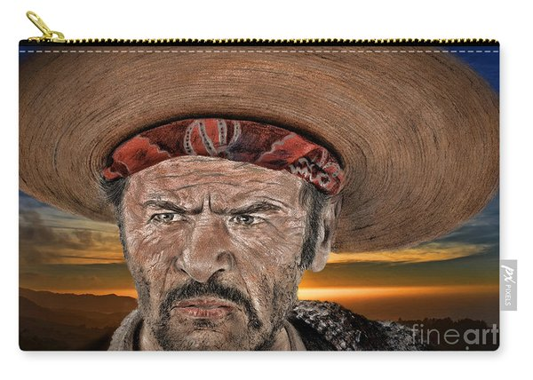 Eli Wallach As Tuco In The Good The Bad And The Ugly At Sunset Carry-all Pouch