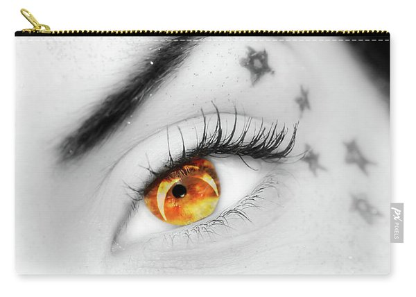 Eclipse And Lashes Carry-all Pouch