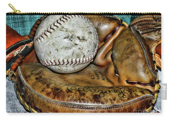 Eliseo Rodriguez Catchers Mitt Carry-all Pouch