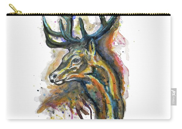 Elk Head Carry-all Pouch