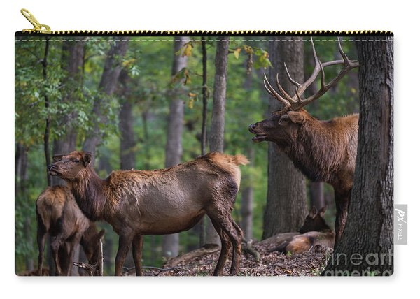 Elk Romance Carry-all Pouch