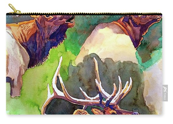 Elk Studies Carry-all Pouch