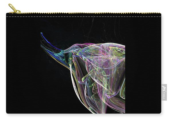 Elle-phant In Black Carry-all Pouch