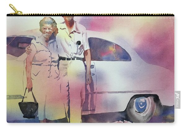 Elsie And Barney Shields Carry-all Pouch