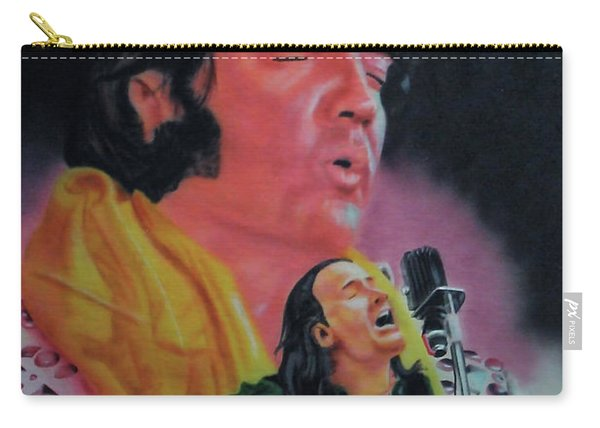 Elvis And Jon Carry-all Pouch