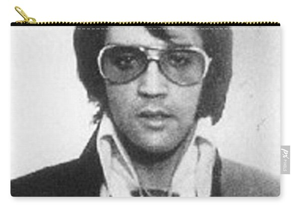 Elvis Presley Mug Shot Vertical Carry-all Pouch