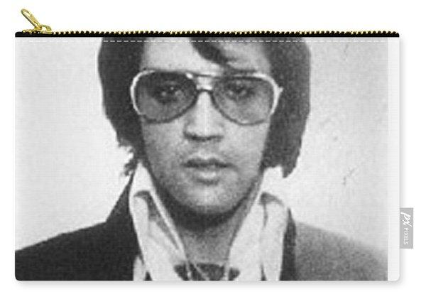 Elvis Presley Mug Shot Vertical Carry-all Pouch