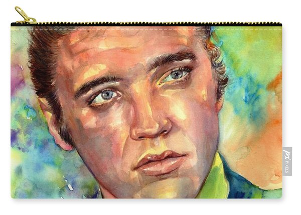 Elvis Presley Watercolor Carry-all Pouch