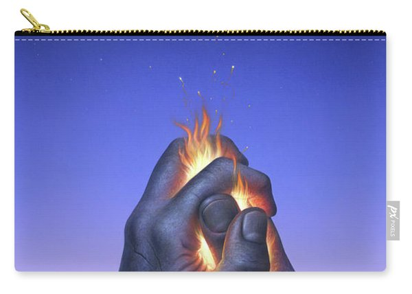 Embers Turn To Stars Carry-all Pouch