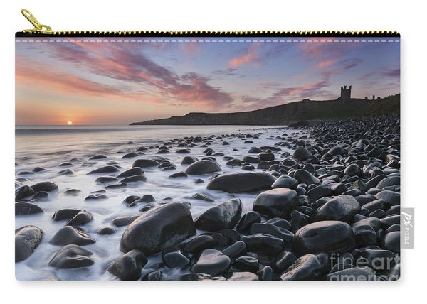 Embleton Bay And Dunstanburgh Castle At Dawn Carry-all Pouch