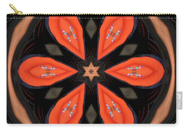 Embroidered Cloth Carry-all Pouch
