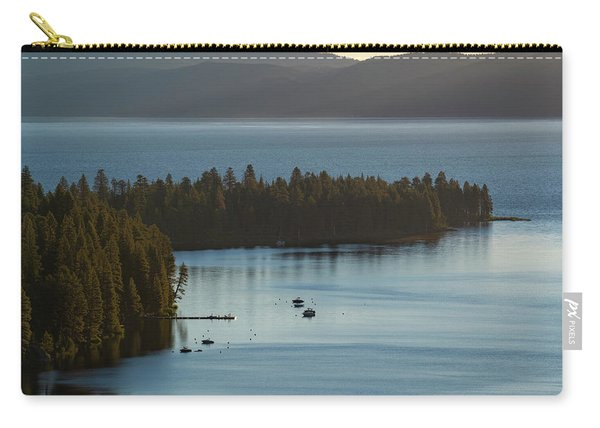 Emerald Bay Channel Carry-all Pouch
