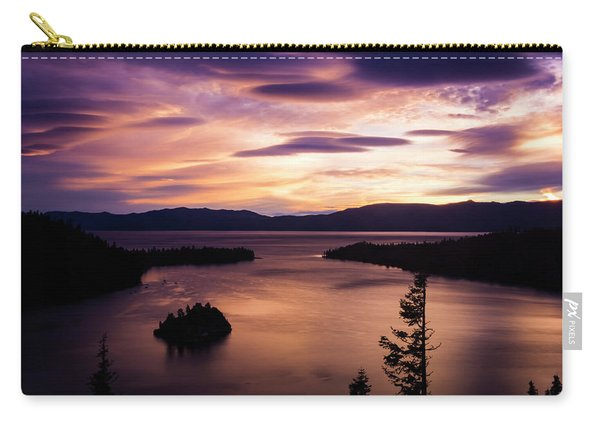 Emerald Bay Sunrise - Lake Tahoe, California Carry-all Pouch