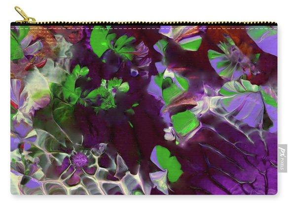 Emerald Butterflies Of Costa Rica Carry-all Pouch