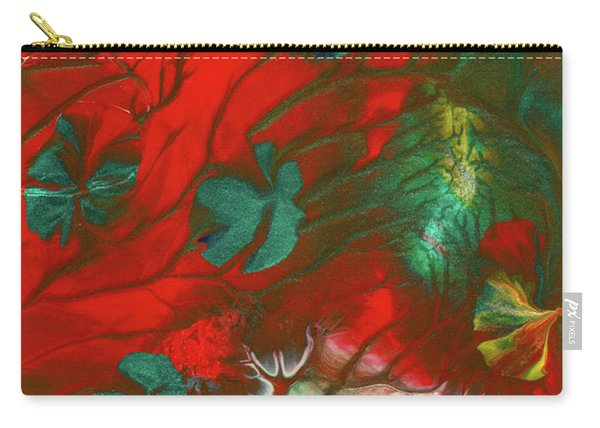 Emerald Butterfly Island Carry-all Pouch