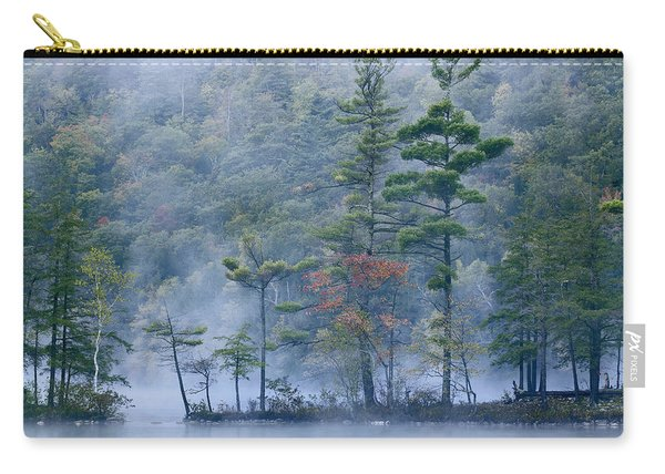 Emerald Lake In Fog Emerald Lake State Carry-all Pouch
