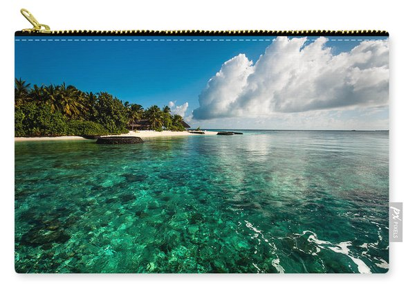 Emerald Purity. Maldives Carry-all Pouch