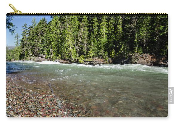Emerald Waters Flow Carry-all Pouch