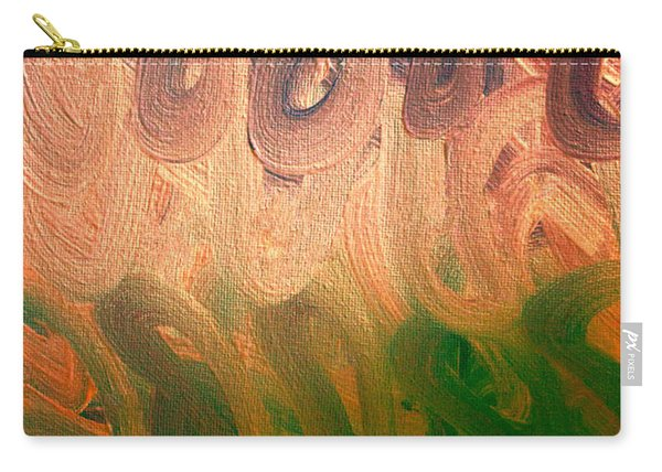 Emotion Acrylic Abstract Carry-all Pouch