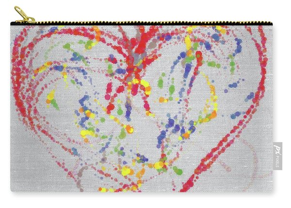 Emotions Of The Heart Carry-all Pouch