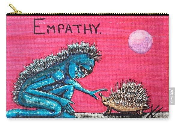 Empathetic Alien Carry-all Pouch