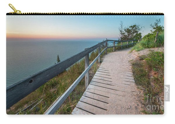 Empire Bluff At Sunset Carry-all Pouch