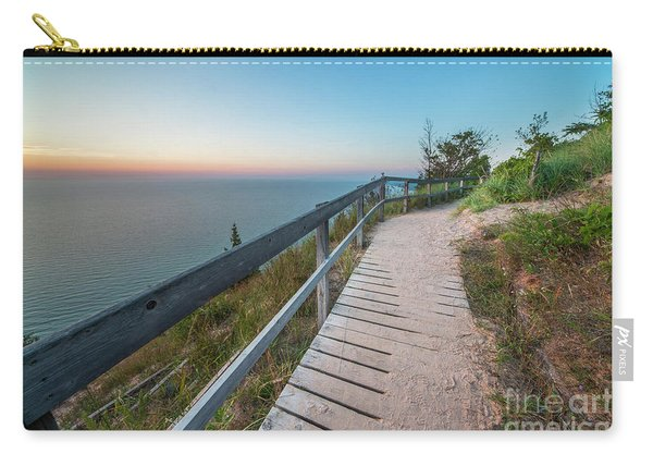 Empire Bluff Over The Lake Carry-all Pouch