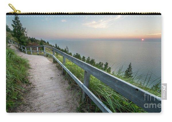 Empire Bluff Summer Sunset Carry-all Pouch