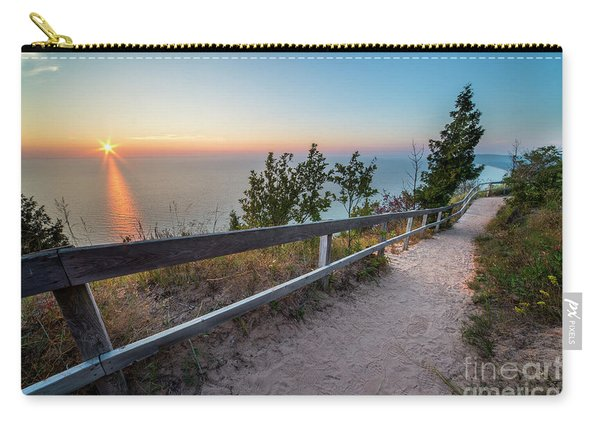 Empire Bluff Sunset Carry-all Pouch